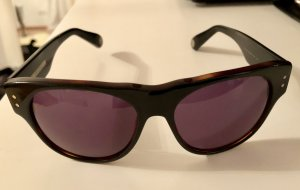 Marc Jacobs Angular Shaped Sunglasses black brown