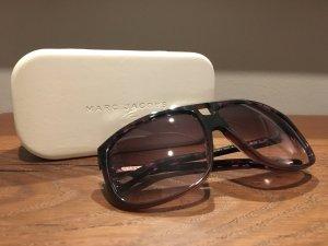 Marc Jacobs Hoekige zonnebril donkerbruin-bruin-paars