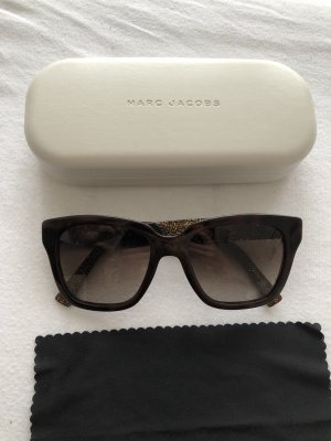 Marc Jacobs Angular Shaped Sunglasses bronze-colored-brown