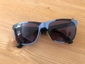 Marc Jacobs Hoekige zonnebril donkerblauw-azuur kunststof