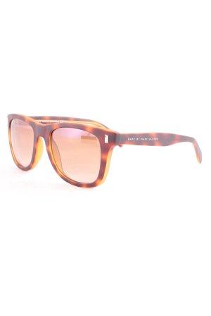 Marc Jacobs Sonnenbrille dunkelbraun-hellbraun Farbverlauf Casual-Look