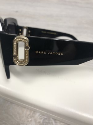Marc Jacobs Square Glasses black-gold-colored