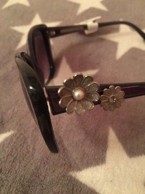 Marc Jacobs Sonnenbrille mit Blumen blau neu
