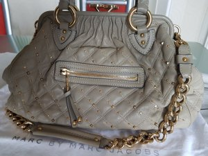Marc Jacobs Handbag gold-colored-grey leather
