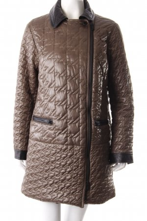 Marc Jacobs quilted jacket leather collar