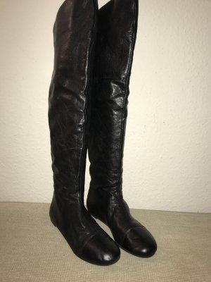 Marc Jacobs Stiefel Overknee 41 Leder Lederstiefel