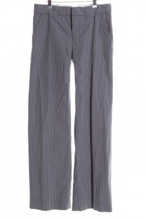 Marc Jacobs Stoffhose hellgrau-graublau Streifenmuster Business-Look