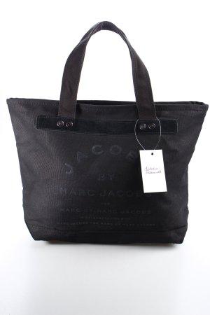 Marc Jacobs Stofftasche schwarz schlichter Stil
