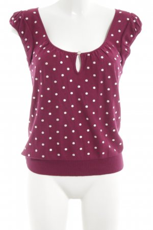 Marc Jacobs Knitted Jumper red-white spot pattern casual look