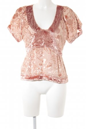 Marc Jacobs T-shirt color carne-color oro rosa Stile Boho