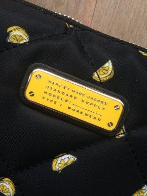 Marc Jacobs Tablet Tasche schwarz gelb Neu