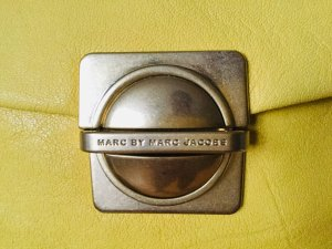 Marc Jacobs Borsa clutch giallo pallido