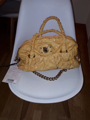 Marc Jacobs Handbag gold-colored-dark yellow leather