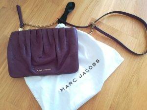 Marc Jacobs Bandolera lila-color oro Cuero