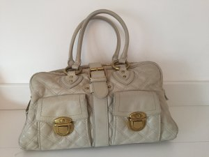 Marc Jacobs Bolso blanco puro-color oro