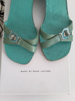 Marc Jacobs Sandals turquoise leather