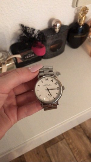 Marc Jacobs Reloj color plata-blanco