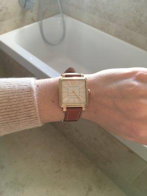 Marc Jacobs Reloj marrón-color oro