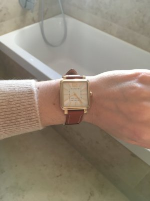 Marc Jacobs Uhr braun gold wie neu!