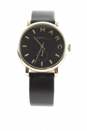 "Marc Jacobs Horloge met lederen riempje ""Ladies Baker 36 MM Black"""
