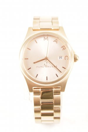 Marc Jacobs Uhr mit Metallband roségoldfarben Elegant
