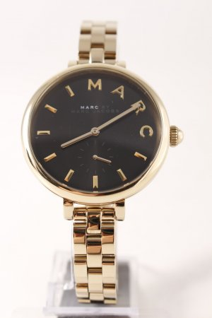 "Marc Jacobs Orologio con cinturino di metallo ""Sally Stainless Steel Gold/Black"""