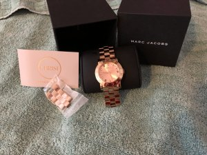 ...Marc Jacobs Uhr Rose Gold...