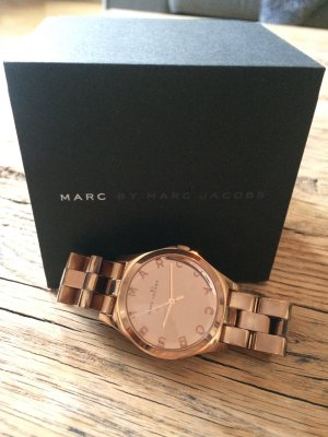 Marc Jacobs Uhr Roségold in Original Box