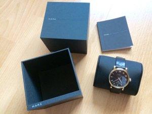 Marc Jacobs Uhr schwarz gold