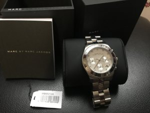 MARC JACOBS Uhr Silber
