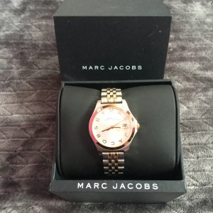 Marc Jacobs Uhr Silber/Roségold