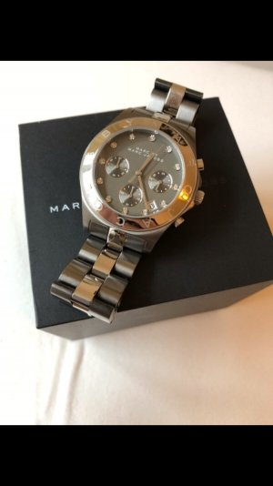 Marc Jacobs Uhr Stainless Steal Gunmetal