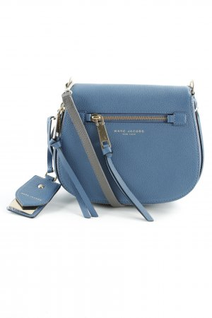 "Marc Jacobs Umhängetasche ""Recruit Small Saddle Shoulder Bag Vintage Blue"""