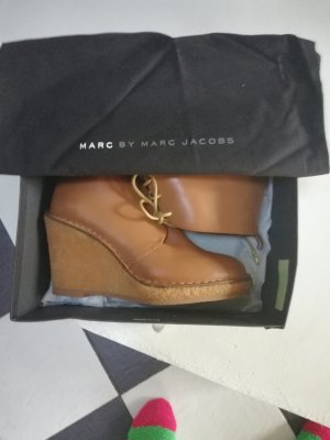 Marc Jacobs Uncle Boots in Cognac