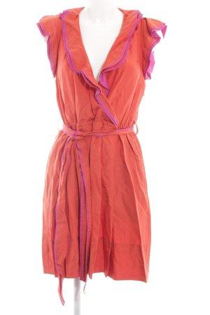 Marc Jacobs Flounce Dress light orange-pink casual look