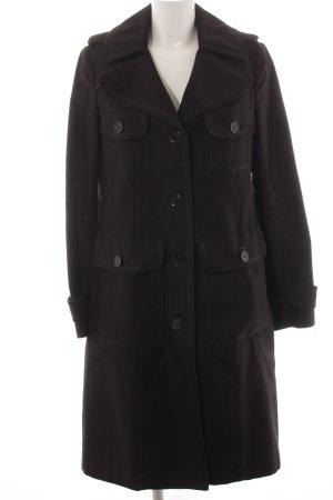 Marc Jacobs Wintermantel schwarz Casual-Look