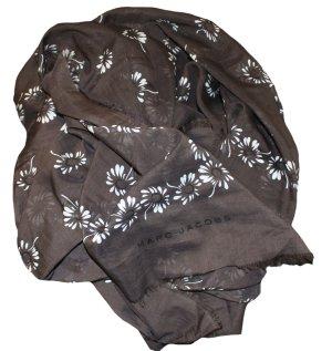Marc Jacobs Chal marrón oscuro-blanco Algodón