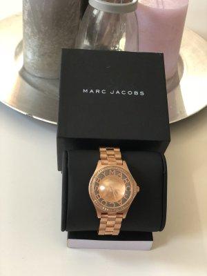 Marc Jacobs Reloj con pulsera metálica color rosa dorado