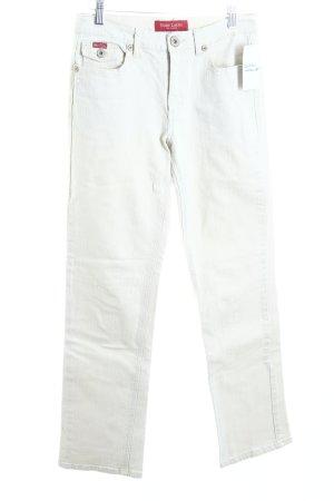 Marc Lauge Straight-Leg Jeans hellbeige Casual-Look