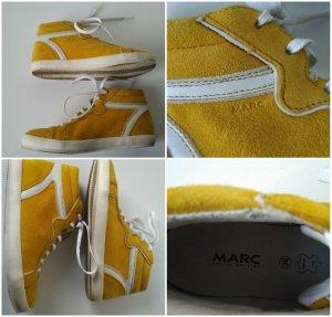Marc  Leder Sneaker high Damen Senf/Mais/gelb  Gr.36/36,5