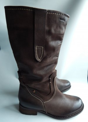 Marc,Leder Winter, Kurzschaftstiefel,Boots- braun, used look,nougatbraun,Gr.39