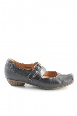 MARC Tacones Mary Jane gris antracita look casual