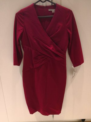 Andrew Marc New York Robe bordeau