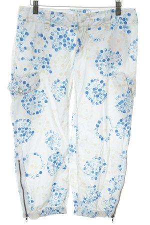 Marc O'Polo Pantalon 3/4 imprimé allover style décontracté