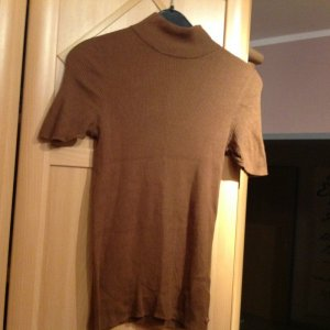Marc O'Polo Short Sleeve Sweater beige-camel cotton