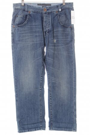 Marc O'Polo 7/8 Jeans blassblau Used-Optik