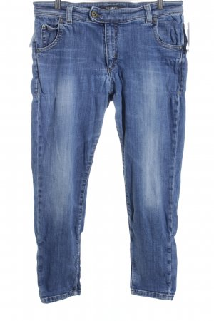 Marc O'Polo 7/8-jeans blauw casual uitstraling