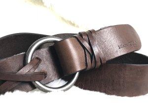 Marc O'Polo Cinturón de cuero marrón