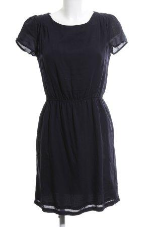 Marc O'Polo A-Linien Kleid schwarz-blau Casual-Look