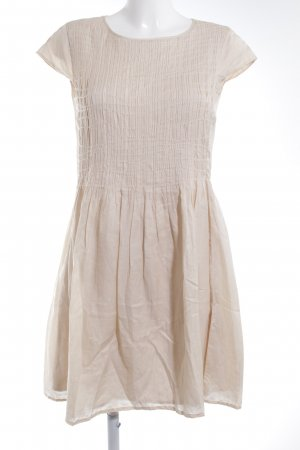 Marc O'Polo A-Linien Kleid creme Casual-Look